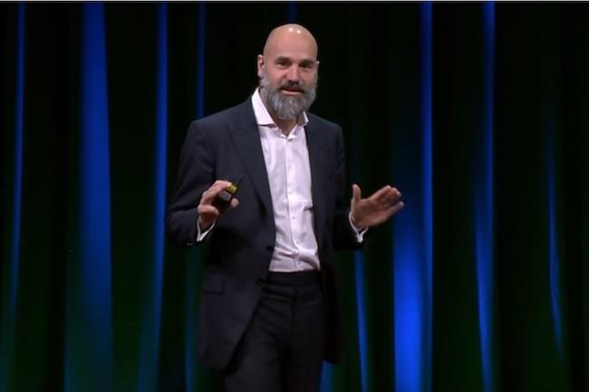 Le CEO de Canonical Mark a bien sûr suivi avec attention l'offre de rachat d'IBM sur RedHat. (Crédit IDG)