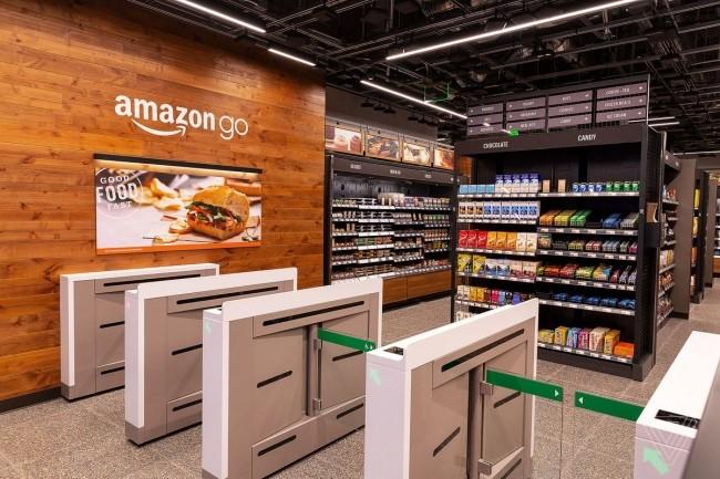 Aves ses boutiques sans caisse, Amazon utilise des caméras associées à une technologie de vision intelligente. (Crédit D.R.)