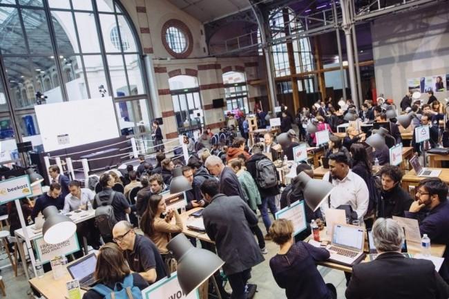 Plus de 6 000 visiteurs sont attendus mardi 27 novembre au Centquatre-Paris pour la troisième édition du Day-Click organisée par Syntec Numérique.Crédit: Syntec Numérique