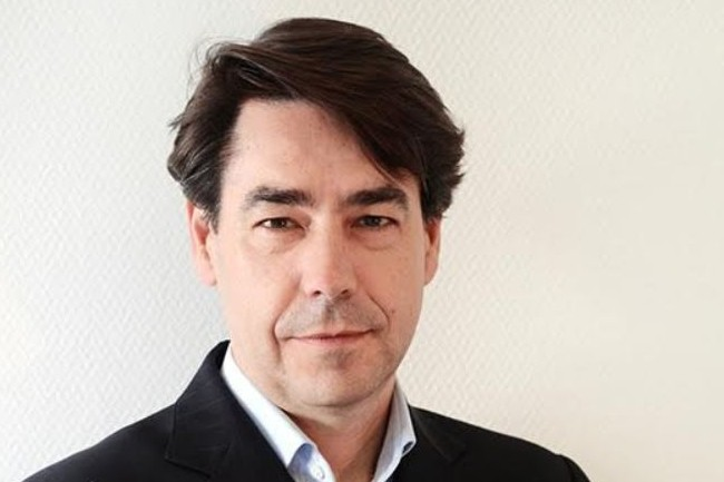 Brice Mallié, est co-fondateur de Crosstalent, un éditeur de logiciels RH développés à partir de la plateforme cloud de Salesforce. Crédit. D.R.