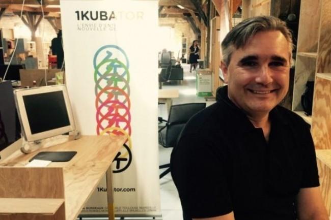 Alexandre Fourtoy a créé 1Kubator, un réseau d'incubateurs de startups ayant pour ambition de rayonner sur l'ensemble  du territoire national. Crédit. D.R.