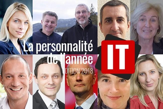 Qui sera élu(e) personnalité IT de l'année 2018 ? (crédit : LMI)