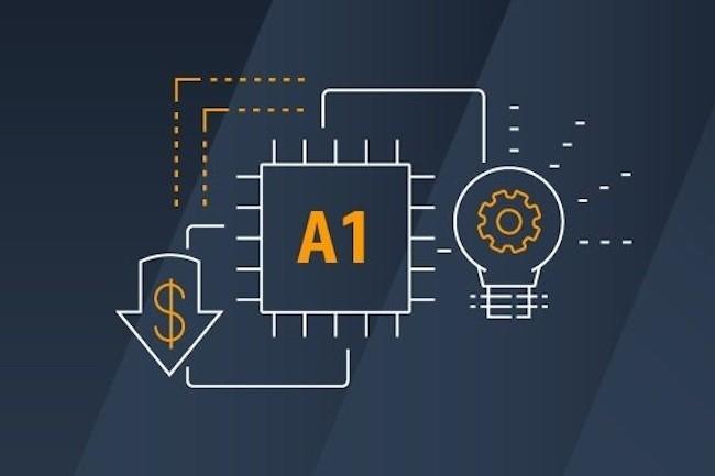 Avec cette proposition ARM,AWSenvoie un signal fort aux entreprises qui désirent réduire leurscoûtsd'exploitation sur lecloud. (Crédit : D.R.)