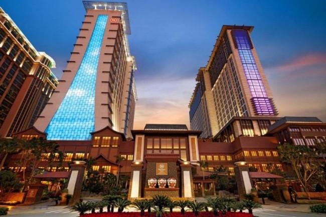Les données de 500 millions de clients des chaines d'hôtels Starwood - comprenant notamment les luxueux Sheraton comme ici celui de Macao - rachetées par Marriott en 2016, ont été exposées à un piratage. (Crédit : D.R.)
