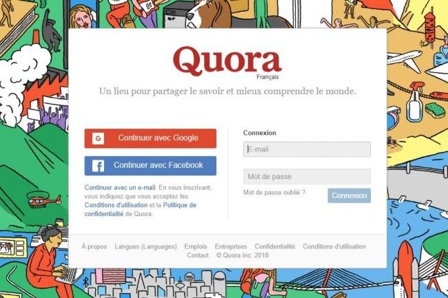100 millions d'utilisateurs touchés par un piratage — Quora