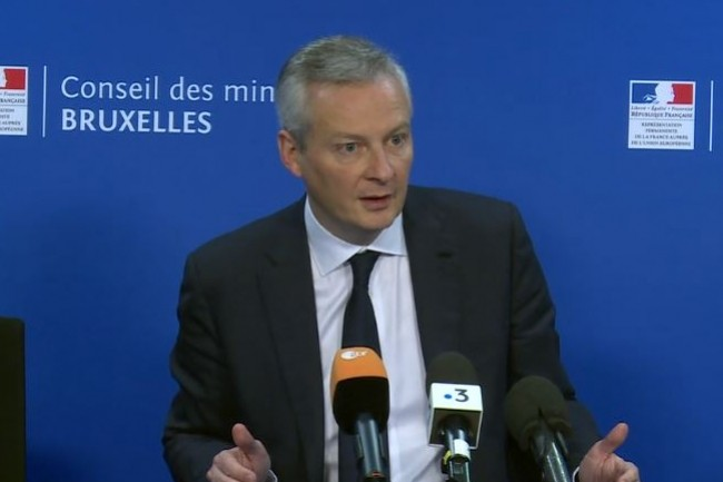 Bruno Lemaire promet de l'appliquer en France dès 2019 — Taxe GAFA