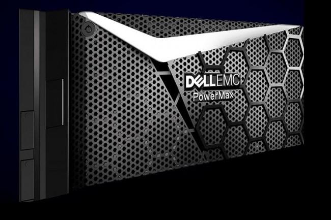 Parmi les constructeurs offrant des solutions NVMe, dont HPE, IBM ou NetApp, Dell EMC a revu son offre d'entreprise VMAX, désormais dénommée PowerMax, pour y inclure le support du protocole Non Volatile Memory Express. (Crédit : D.R.)