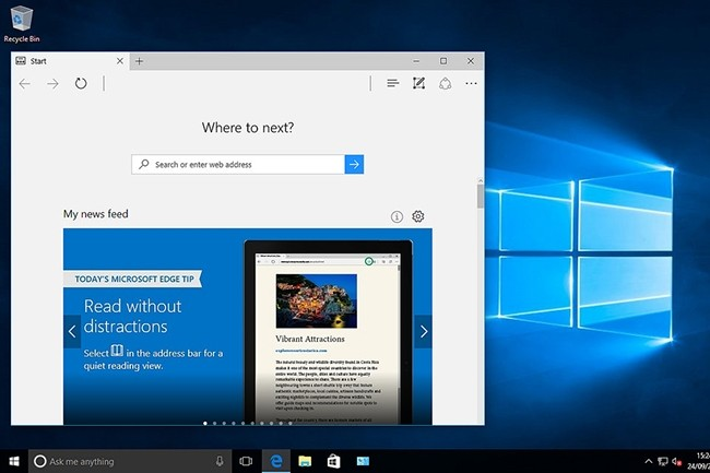 Lancé en 2015 en même temps que Windows 10, Edge vit très probablement passer la main comme navigateur par défaut de l'OS.