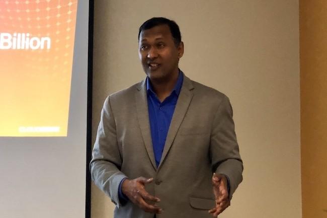 Kumar Ramachandran, CEO et cofondateur de CloudGenix, a créé la start-up en 2013 pour répondre aux besoins de bande passante des entreprises. (Crédit S.L.)