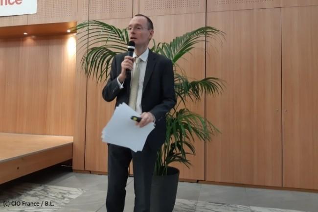 Stéphane Rousseau, DSI groupe d'Eiffage et administrateur du Cigref, a été le parrain de l'édition 2018 de l'Open CIO Summit