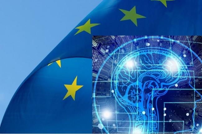 Ne pas perdre la main en Europe sur le terrain de l'intelligence artificielle, face aux puissances technologiques de 1er plan, apparaît comme un impératif dans les déclarations de la Commission européenne. (Crédit : Pixabay/Pixel2013/Geralt)