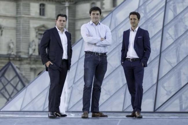 De gauche à droite, l'équipe dirigeante de Finalcad, avec Joffroy Louchart (responsable du développement), Jimmy Louchart (CEO) et David Vauthrin (directeur marketing), qui a co-fondé la société en 2012. (crédit : Finalcad)
