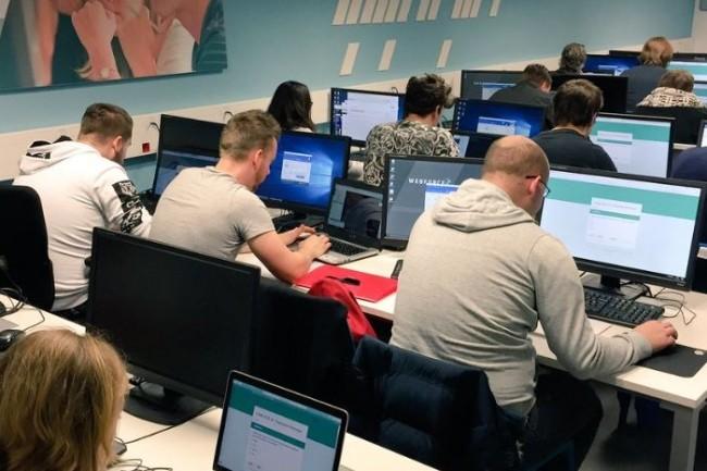 Le réseau d'écoles Webforce 3 fait partie des formations numériques labellisées cette année par le gouvernement. Crédit. D.R.