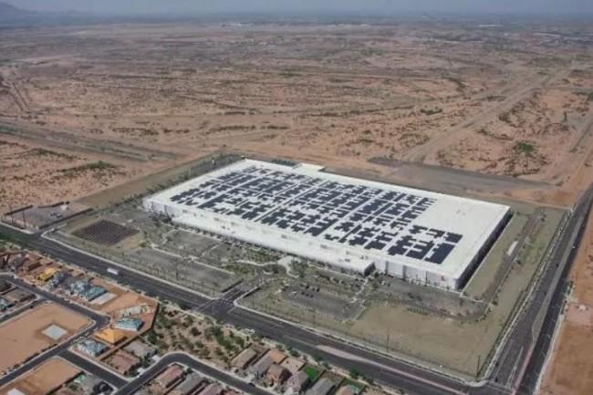 Apple va agrandir ses 3 datacenters dont celui situé en Arizona (Crédit : D.R.)