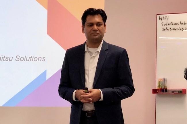 Ashish Gupta, CMO de Vexata, s'est félicité du partenariat avec Fujitsu. (Crédit S.L.)