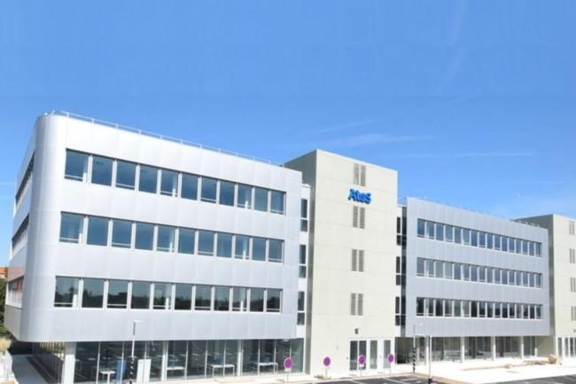 Le site Atos d'Olivet réunit 400 collaborateurs qui sera porté à 450 personnes en 2019, sur un total de 1200 salariés pour la SSII en région Centre-Val de Loire. (Crédit : Atos)
