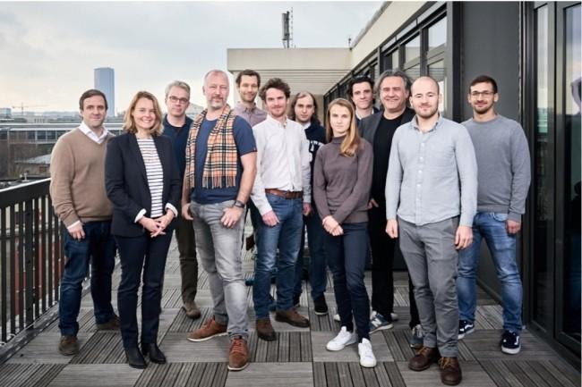 L'équipe de LightOn à Paris. (Crédit : D.R.)