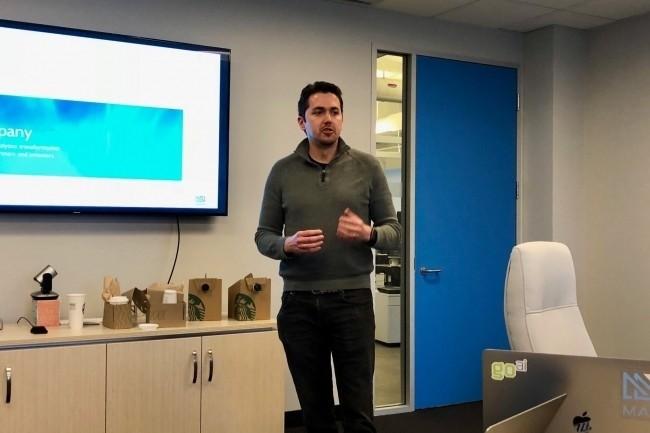 OmniSci combine une base de données SQL in-memory avec Immerse, un moteur d'analyse visuelle basée sur des GPU, nous a expliqué Todd Mostak, CEO de la jeune société. (Crédit S.L.)