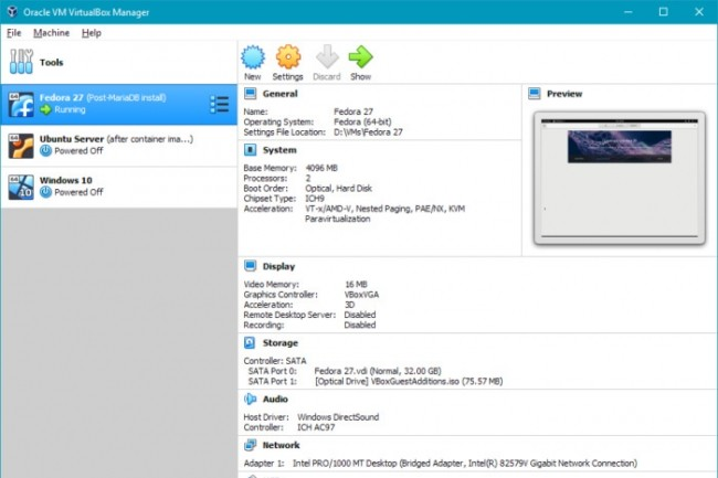 L'interface de VirtualBox a été revue afin de faciliter la prise en mains. (Crédit IDG)