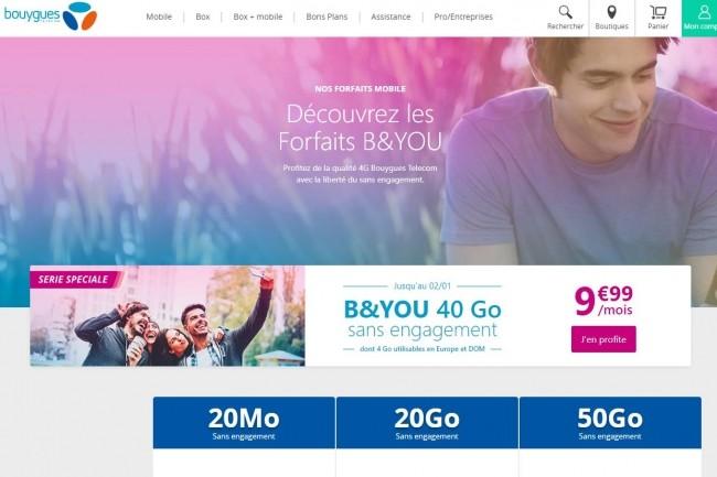 Une erreur de Bouygues Telecom lié à un « oubli de réactiver le site après test » a mis à l'air libre les contrats et factures de 2 millions de clients B&You pendant 2 ans. (crédit : D.R.)