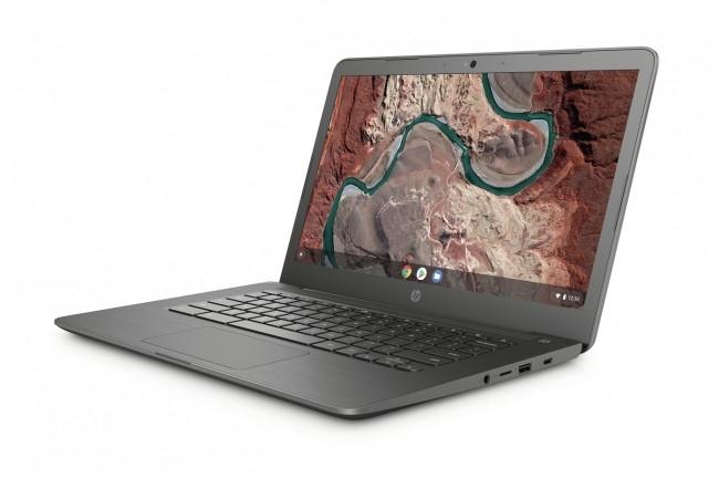 Le dernier Chromebook dispose d'une mémoire vive de 4 Go SDRAM et d'une capacité de stockage de 32 Go. (Crédit : HP)