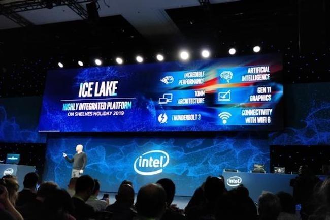 Depuis la disparition du Comdex, Intel investit tous les ans le CES pour présenter ses innovations. (Crédit IDG)