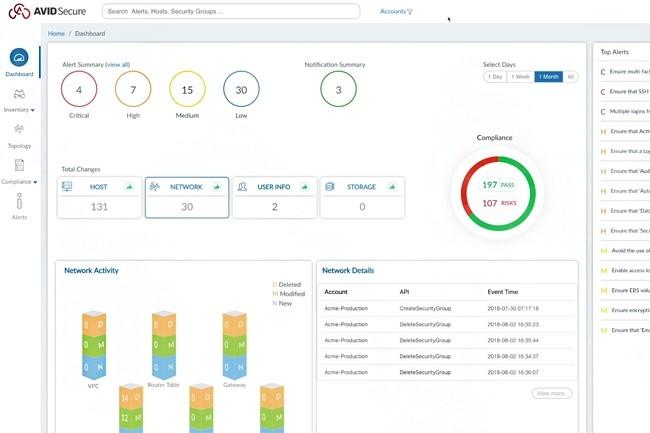 Avid Secure permet de sécuriser les infrastructures cloud de bout en bout. (Crédit : Avid Secure)