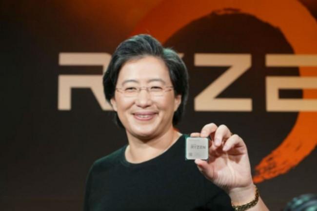 « La performance globale du système est notre priorité, mais nous savons à quel point la performance d'un seul thread est importante », a déclaré Mme Su, CEO d'AMD.