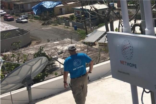 L'équipe TacOps de Cisco intervient après les catastrophes naturelles pour rétablir les communications. (Crédit Cisco)