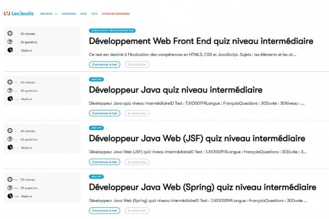 Selon l'observatoire des compétences IT de SkillValue, Java et JavaScript sont les langages que les codeurs français maîtrisent le mieux. (Crédit : D.R.)