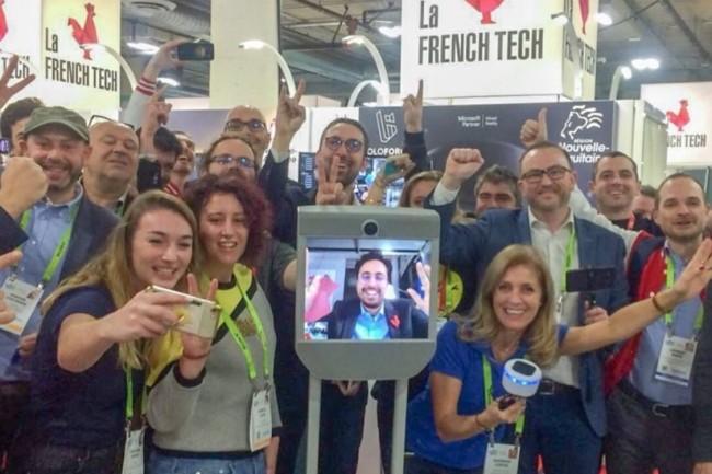 Le secrétaire d'Etat chargé du numérique Mounir Mahjoubi  est cette année présent de manière virtuelle au CES de Las Vegas. (crédit : D.R.)