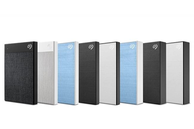 Trois produits ont enrichi la gamme phare d'unités SSD externes Backup Plus de Seagate. (Crédit : Seagate)