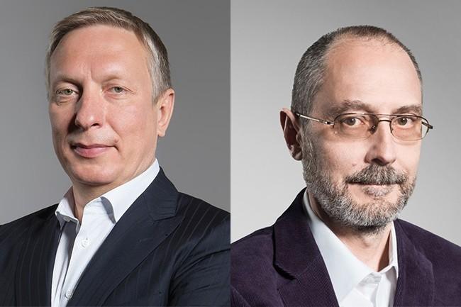Ratmir Timashev (à gauche) et Andrei Baronov, co-fondateurs de Veeam, comptent utiliser l'investissement reçu pour consolider leur offre et réaliser des acquisitions. (Crédit : Veeam)