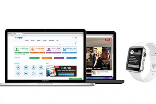 Accengage propose un CRM sur mobile et des solutions de notifications push. (Crédit : Accengage)