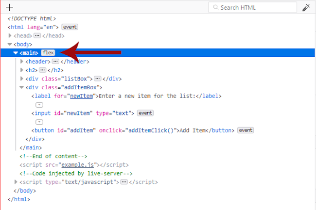 L'outil Flexbox Inspector de Mozilla un outil examine les layouts Flexbox CSS.