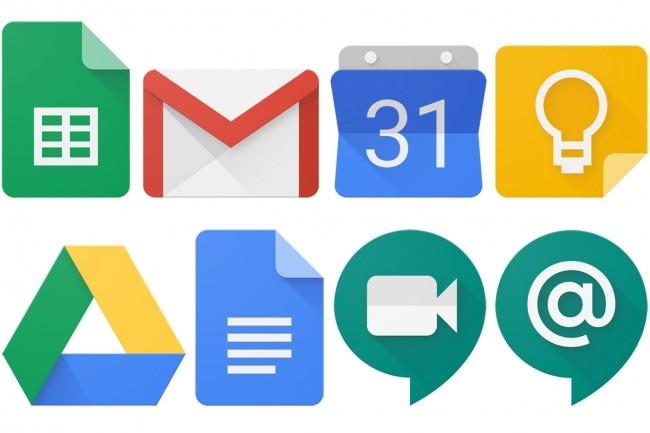 La g suite regroupe toutes les apps de Google pour rédiger des documents et collaborer.