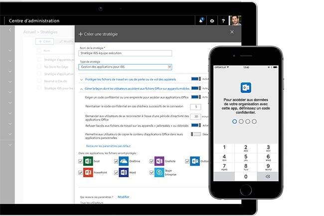 L'abonnement grand public Microsoft 365 pourrait être lancé lors du MWC 2019, fin février. (Crédit : Microsoft)
