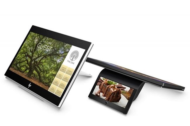 La tablette Engage One Prime sera disponible globalement auprès de HP et de ses revendeurs en mars prochain. (Crédit : HP)