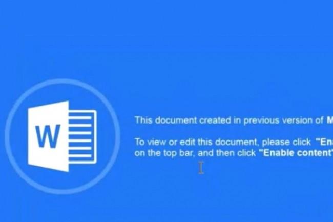 Les macros de documents et les scripts PowerShell ont été très souvent utilisés pour installer des logiciels malveillants sur les ordinateurs. (crédit : D.R.)