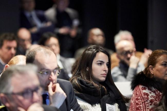 La conférence « Fournisseurs IT : les liaisons dangereuses - De la stratégie d'achat à la gestion quotidienne » a été organisée par CIO le 23 janvier 2019. (crédit : Bruno Levy)