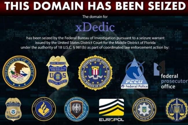 Le FBI allié à plusieurs autres agences internationales sont parvenus à mettre un terme à l'activité de la place de marché de serveurs piratés xDedic. (crédit : D.R.)