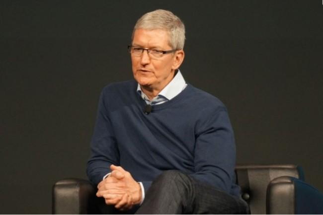 Apple estime que Facebook a enfreint les règles de son programme Developper entreprise. Ci-dessus, son CEO, Tim Cook. (Crédit : IDG)