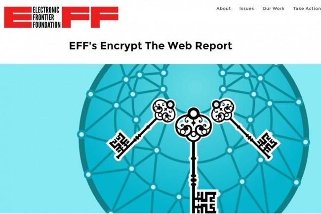 L'EFF pousse à un cryptage global de l'Internet pour renforcer la sécurité des utilisateurs.