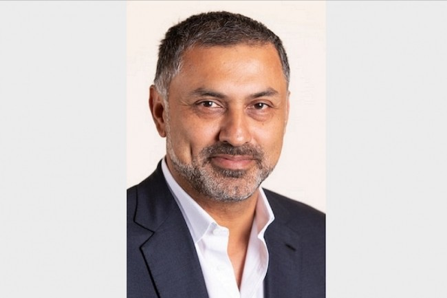 Nikesh Arora, CEO de Palo Alto Networks, a confirmé le rachat de Demisto. (Crédit : Palo Alto Networks)