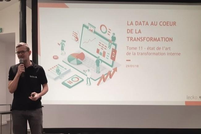 Arnaud Rayrole, Directeur Général de Lecko, a présenté le 29 janvier 2019 les derniers résultats de son étude annuelle. (crédit : CIO / B.L.)