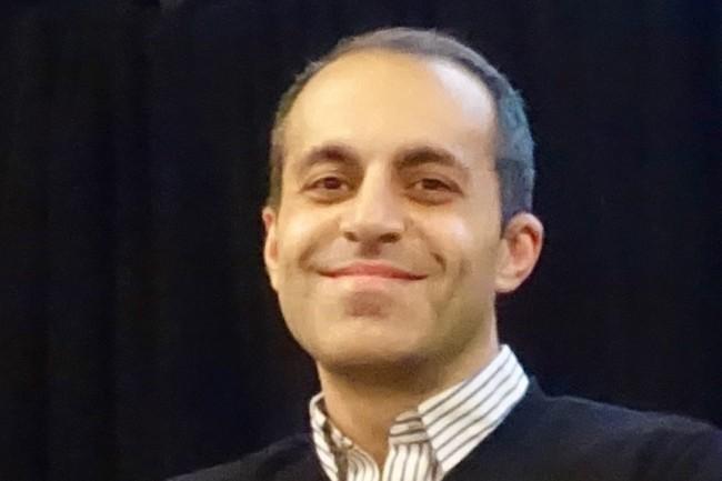 CEO de Databricks, Ali Ghodsi vient de boucler un tour de table de 250 M$ pour financer le développement de sa start-up. (Crédit Steve Jurvetson/CC BY 2.0)