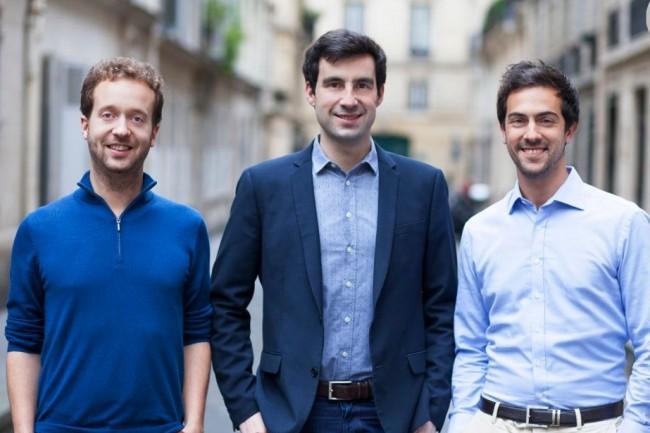 Co-fondée par Vincent Delaitre (à gauche), Augustin Marty (au centre), et Aloïs Brunel (à droite)  Deepomatic a réalisé deux levées de fonds depuis sa création. Crédit. D.R.