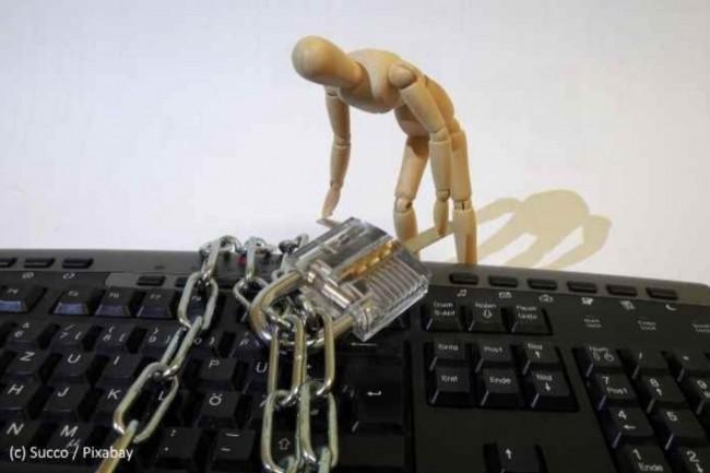 Les individus se préoccupent de la sécurité de leurs données mais ne font pas toujours ce qu'il faudrait. (Crédit : Pixabay/Succo)