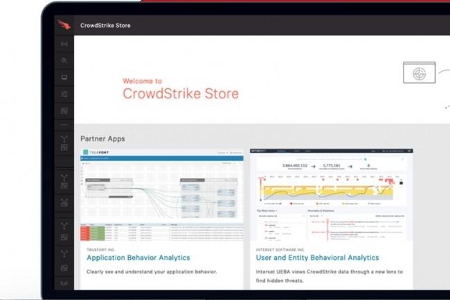 « Il ne s'agit pas simplement d'une API basée sur le cloud, mais d'une intégration profonde, même au niveau commercial », a expliqué Amol Kulkarni, vice-président senior de l'ingénierie de CrowdStrike à propos de sa dernière plate-forme Store. (crédit : CrowdStrike)