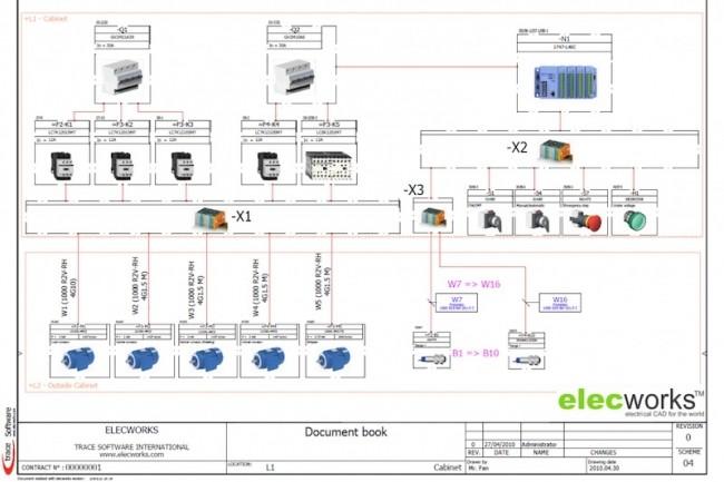 Les outils de CAO électrique Elecworks viennent compléter la gamme de solutions de Dassault Systèmes. (Crédit Trace Software)